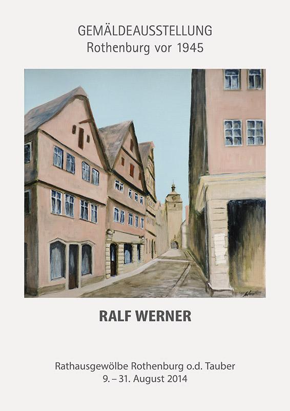 Ausstellung Ralf Werner 2014