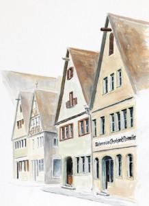 Ralf Werner Gemälde Rothenburg